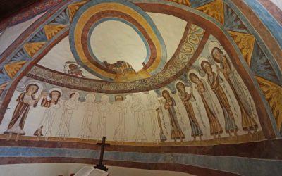 L'église du XIeme siècle de Montcherrand