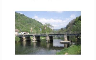 Doubs-frontière: Goumois, village franco-suisse