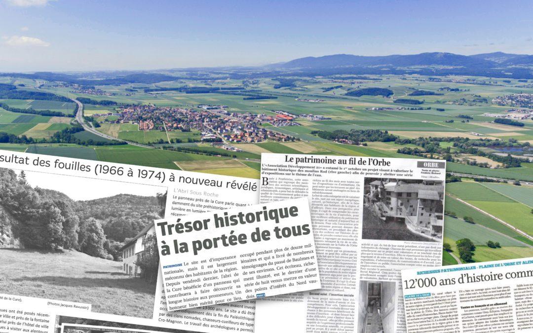 Revue de presse des Richesses Patrimoniales